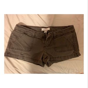 Brown Hollister shorts